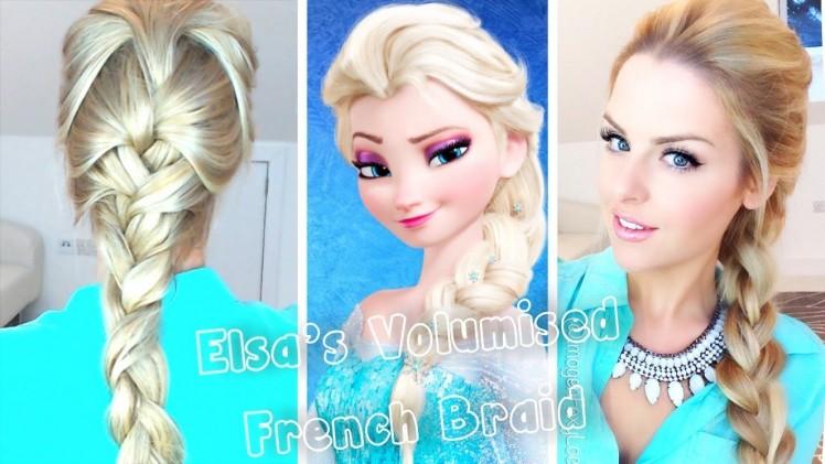 Franse vlecht zoals Elsa in frozen